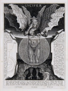 Cornelis Galle: Lucifer from the Divine Comedy, c 1596 - c 1605/8
