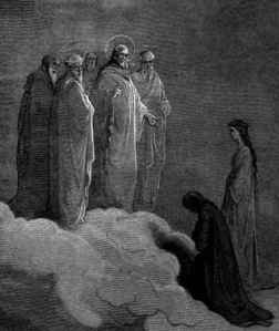 Examination on Love by Gustav Dore