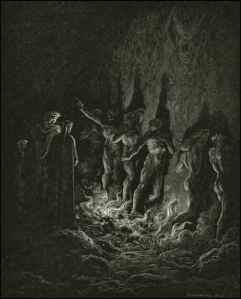 Ring of Fire by Gustav Dore