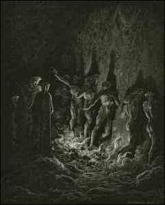 Ring of Fire by Gustav Dore