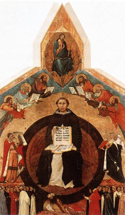 Triumph of St. Thomas Aquinas