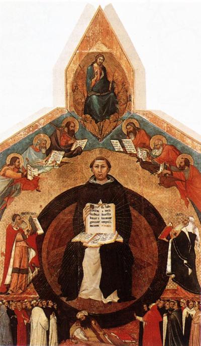 Triumph of St. Thomas Aquinas